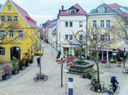 Badstrasse Bayreuth Drohnenbild