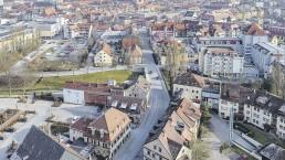 Bayreuth Kulmbacher Straße Drohnenaufnahme