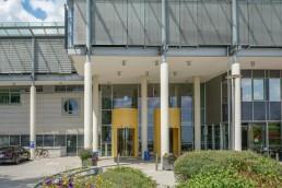 bayreuth kliniken klinikum hohe warte eingangsbereich