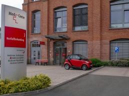 bayreuth kliniken medcenter aussenansicht