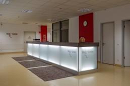 bayreuth kliniken medcenter empfang