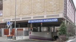 bayreuth verkehr parkhaus tiefgarage rathaus einfahrt