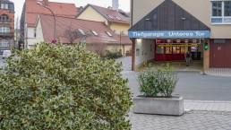 bayreuth verkehr parkhaus tiefgarage unteres tor einfahrt