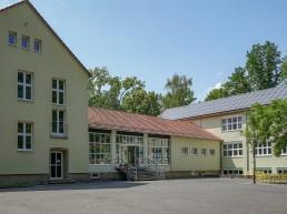 schulen bayreuth lerchenbuehl aussenansicht