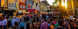 bayreuth Feste Bürgerfest Bayreuth Sonnenuntergang