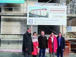 Bezirkskrankenhaus Richtfest