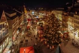 bayreuth maerkte Christkindlesmarkt Bayreuth Drohnenaufnahme