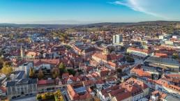 Luftbild Bayreuth Innenstadt