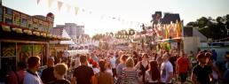 Volksfest Bayreuth 2019 Menschenmenge