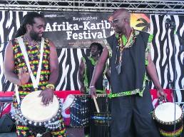 bayreuth feste afrika karibik festival band
