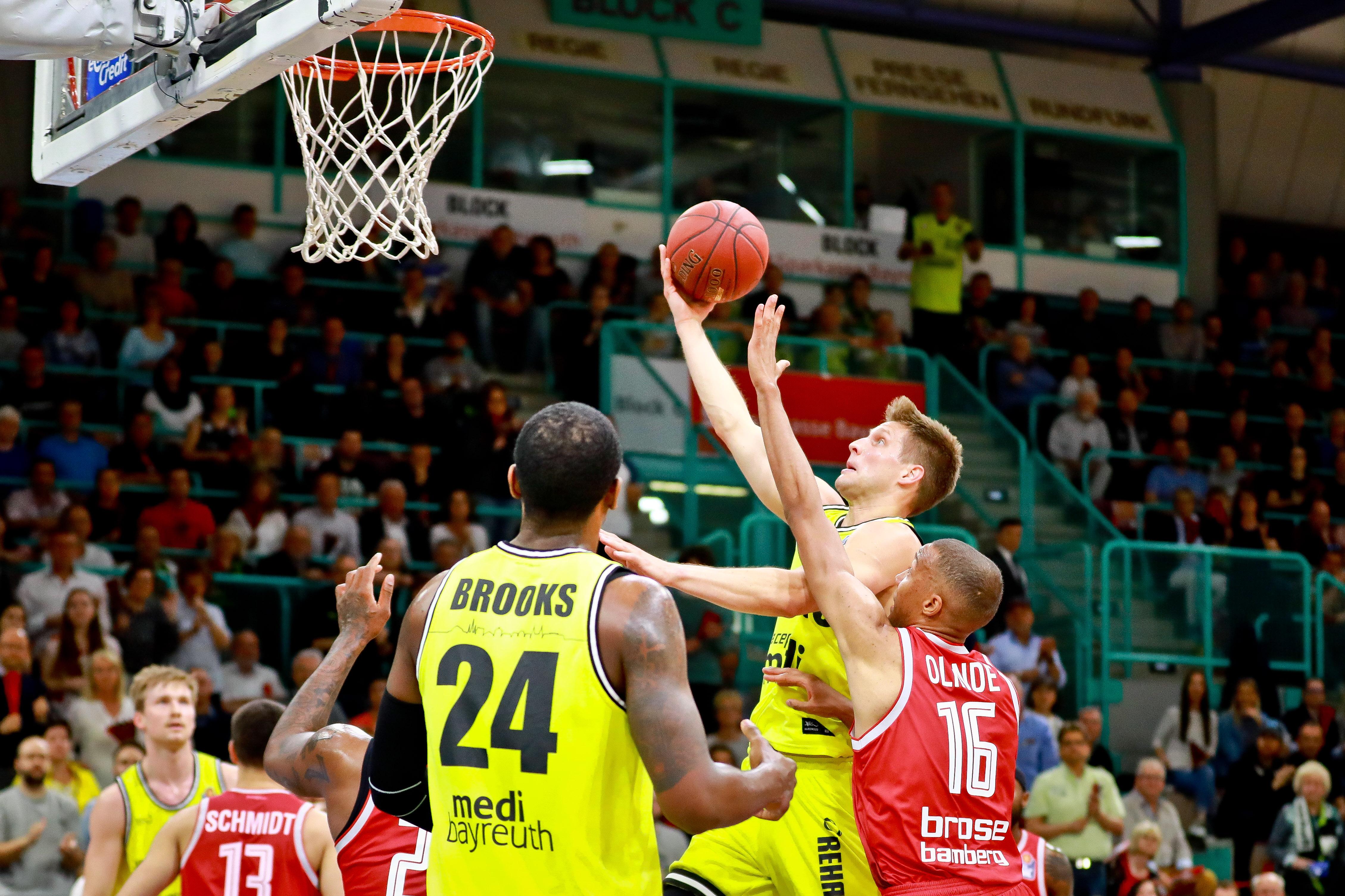Medi Bayreuth Basketball Gewinnspiel 2019