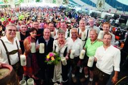 Bieranstich Volksfest Bayreuth 2019
