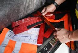 Wenn es gekracht hat: Unfallstelle sichern und Europäischen Unfallbericht ausfüllen. Bei Personenschäden immer die Polizei rufen.