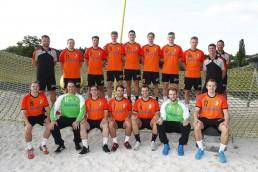 Die erste Mannschaft von HaSpo Bayreuth.