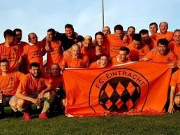 Die erste Mannschaft von Eintracht Bayreuth.