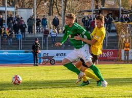 Stefan Maderer kennt die Altstadt aus Duellen in der Regionalliga Bayern.