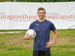 Bayreuths Neuzugang Alexander Nollenberger.