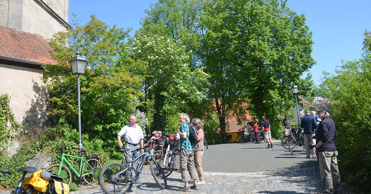 Veranstaltungen Wunsiedel: Markgrafenkirchen per Rad entdecken