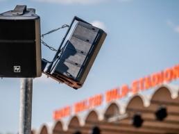 Im Hans-Walter-Wild-Stadion gibt es eine neue Soundanlage.