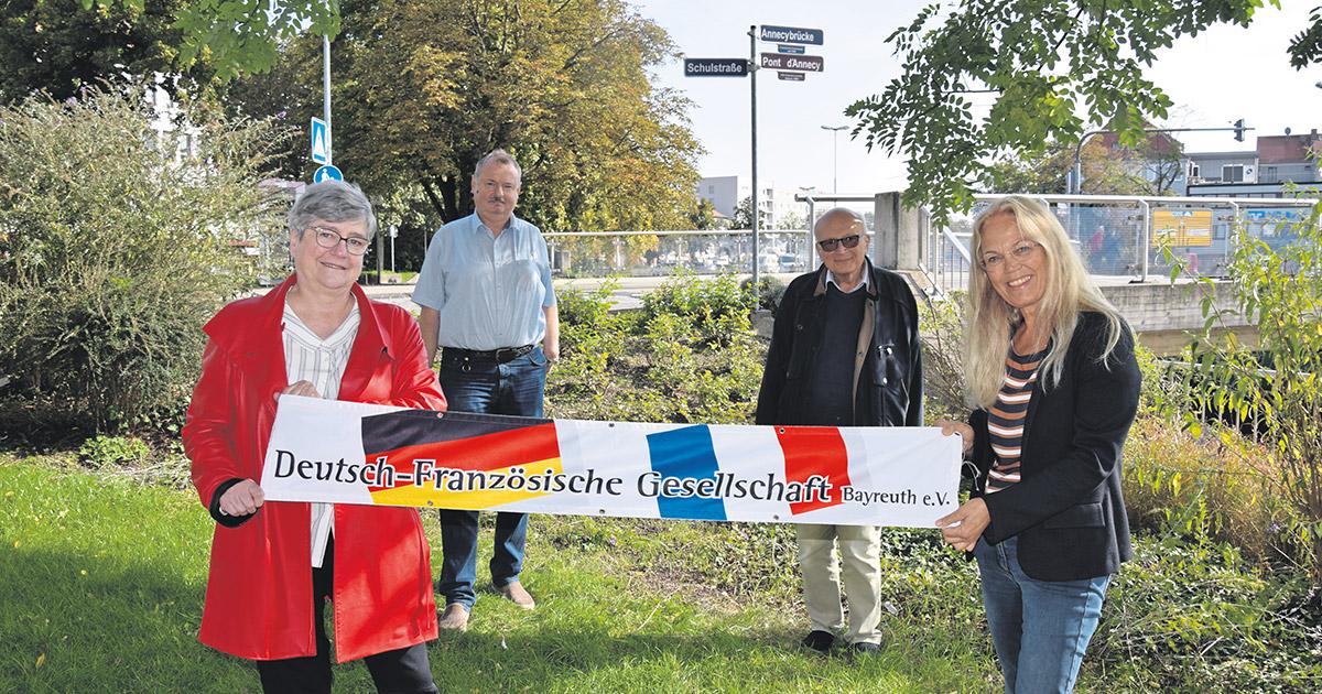 Nachrichten Bayreuth: Eine Brücke zwischen zwei Ländern