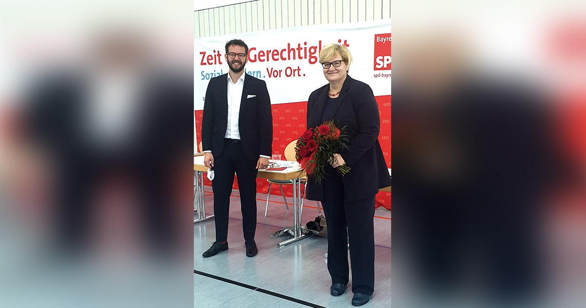 Nachrichten Bayreuth: Anette Kramme geht erneut ins Rennen
