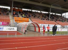 Im Hans-Walter-Wild-Stadion sind am Samstag keine Zuschauer zugelassen.