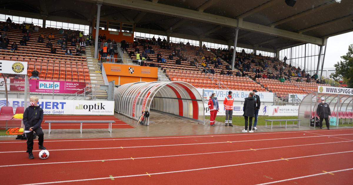 SpVgg Bayreuth: Spiel gegen Unterhaching fällt aus