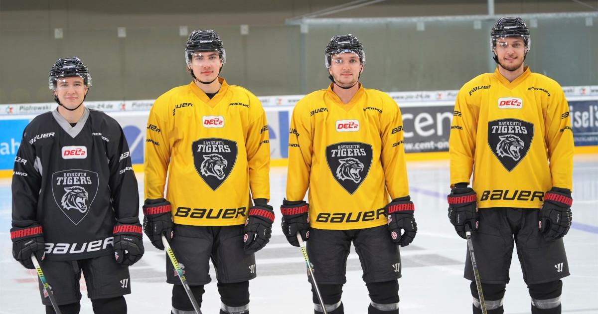 Bayreuth Tigers: Fünf neue Spieler von den Ice Tigers