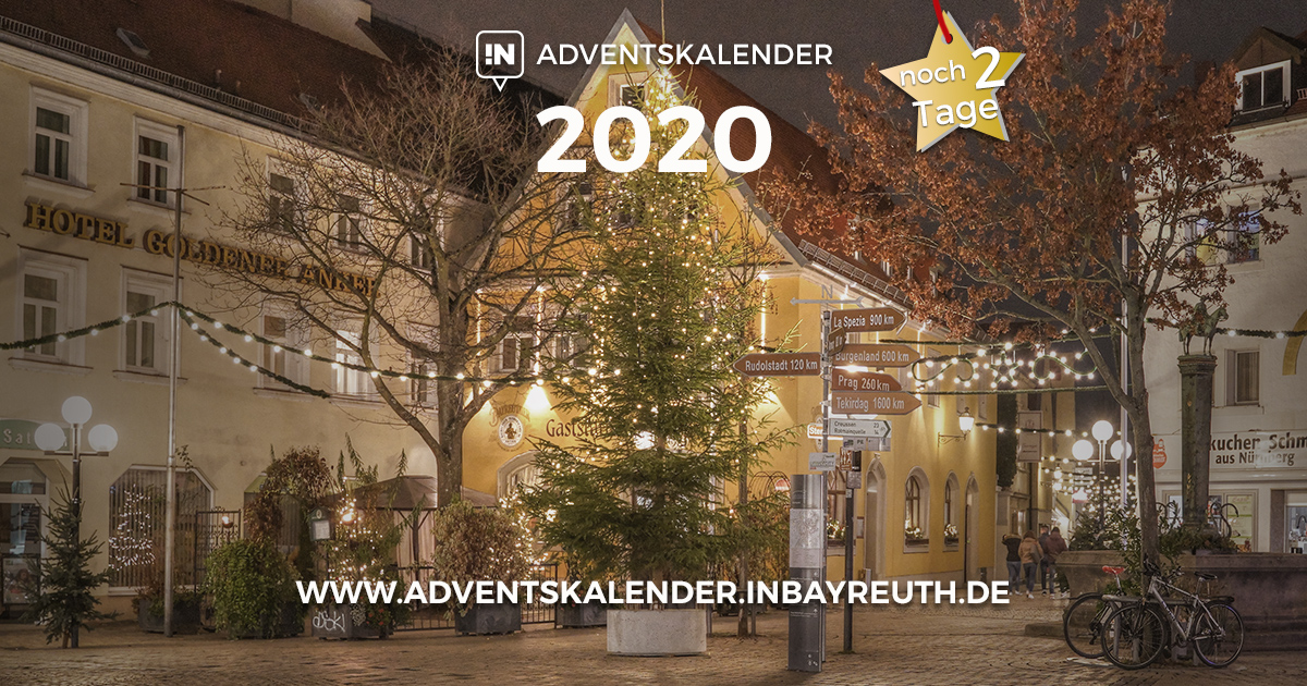Adventskalender Bayreuth: Nur noch zwei Tage ...