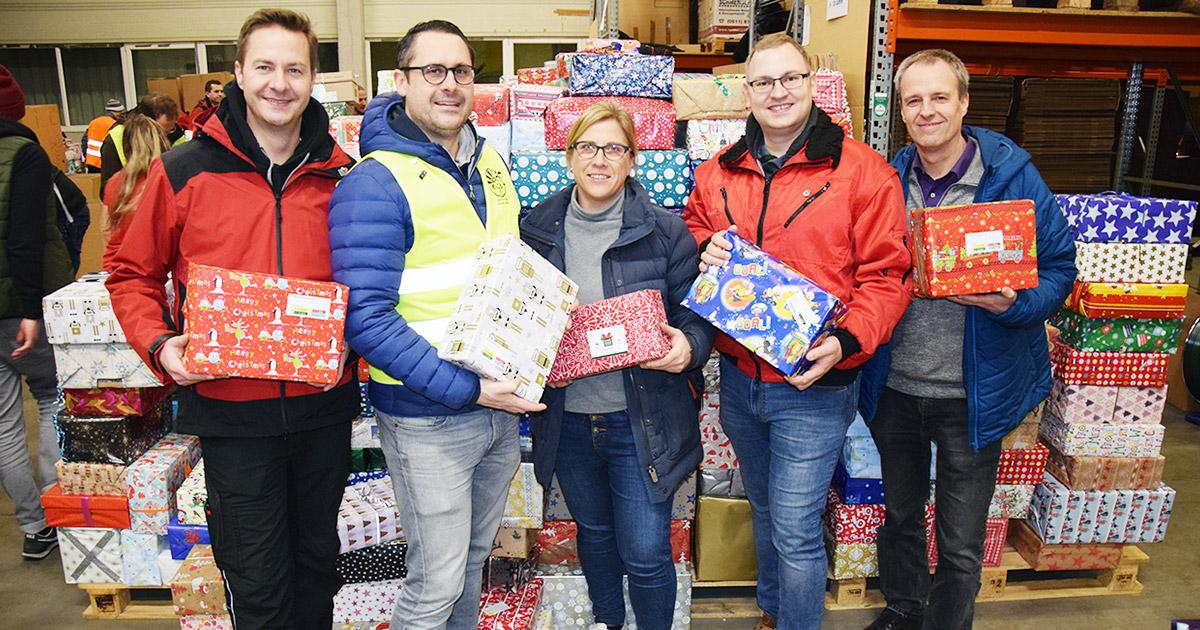 Nachrichten Bayreuth: Weihnachtspäckchen für Osteuropa gesammelt