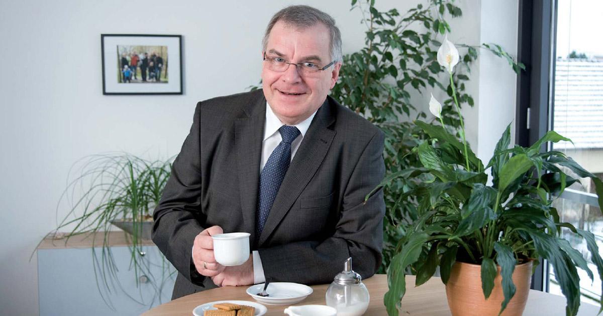 Wirtschaft Bayreuth: vfm-Firmengründer wird 70
