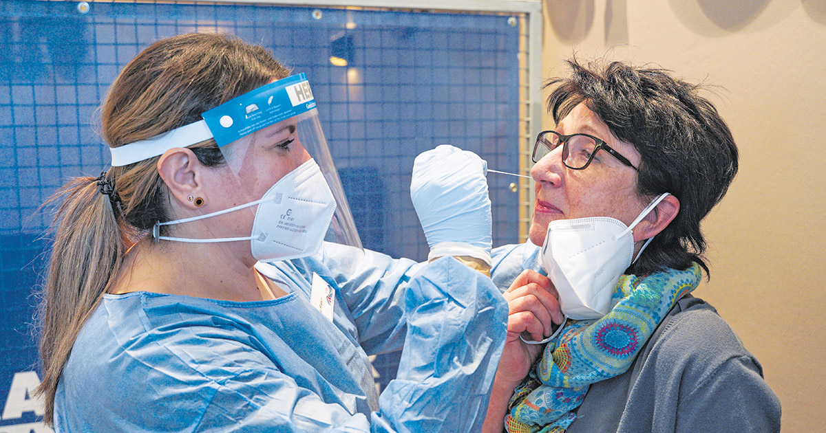 Corona-Virus in Bayreuth: Ergebnis in 15 Minuten