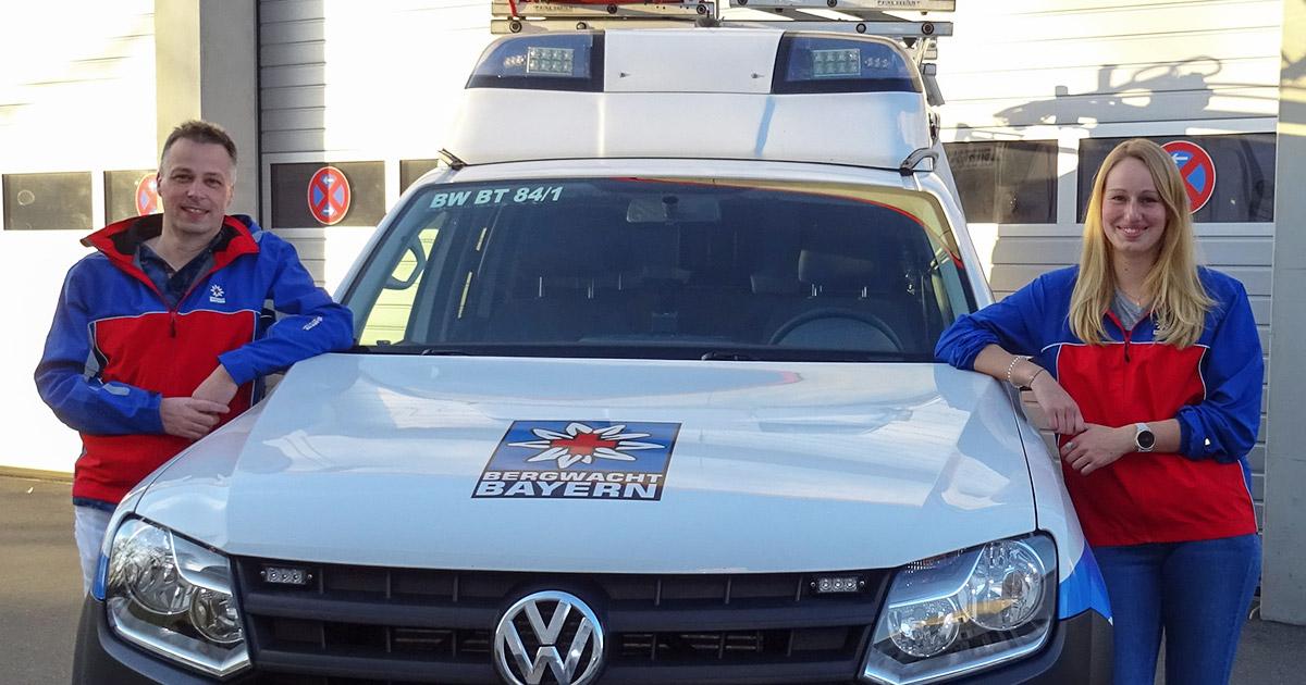 Lokalnachrichten Bayreuth: Führungswechsel bei der Bergwacht