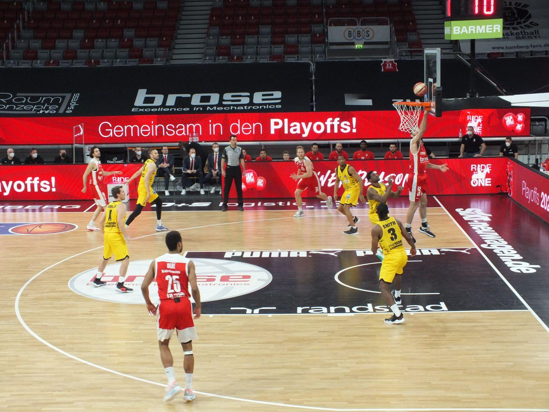 Brose Bamberg: Playoff-Serie gegen Ludwigsburg ausgeglichen