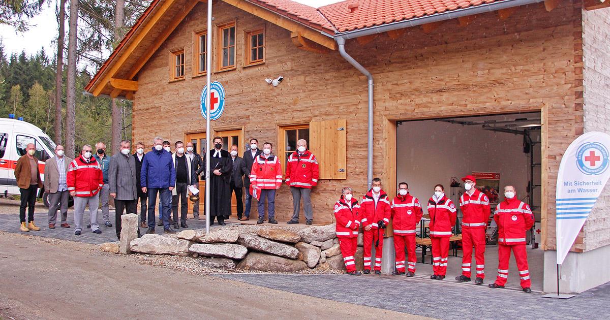 Lokalnachrichten in Oberfranken: Neue Wasserrettungsstation am Fichtelsee