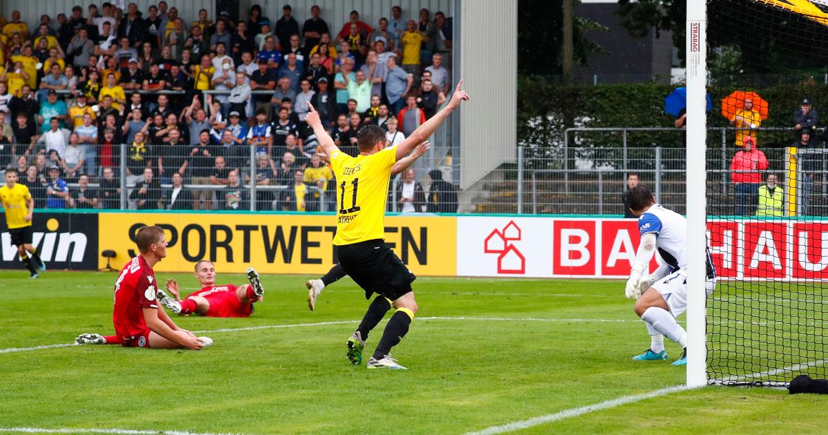 SpVgg Bayreuth: Sensationeller Pokalfight gegen Bielefeld wird nicht belohnt