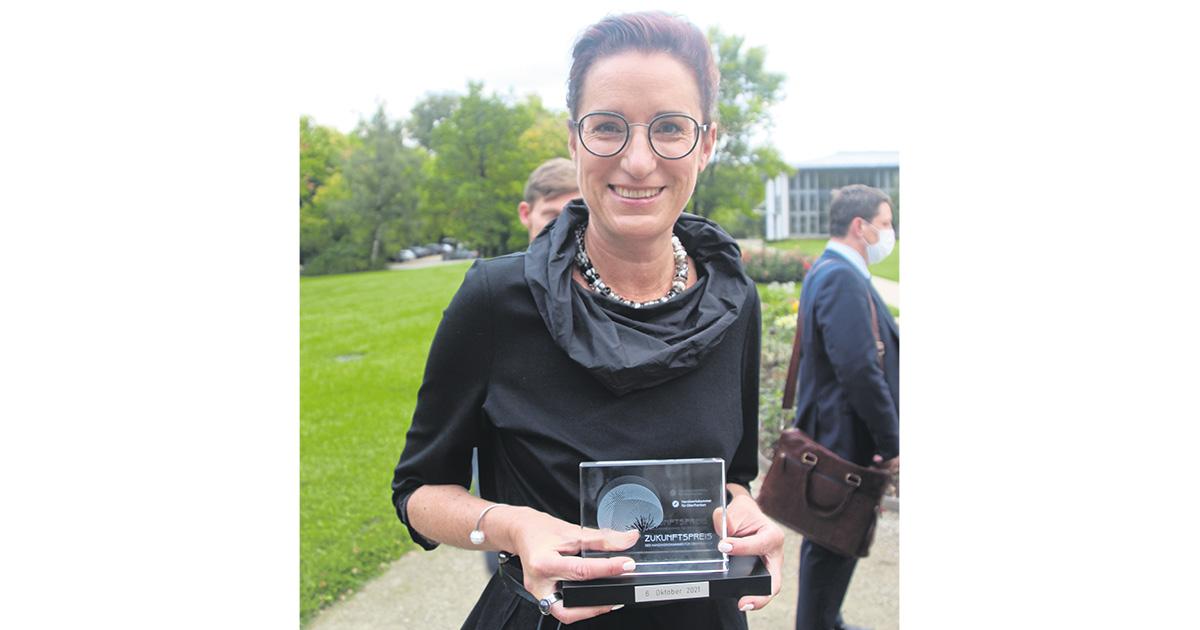 Lokalnachrichten in Bayreuth: Zukunftspreis für Julia Förster-Oetter