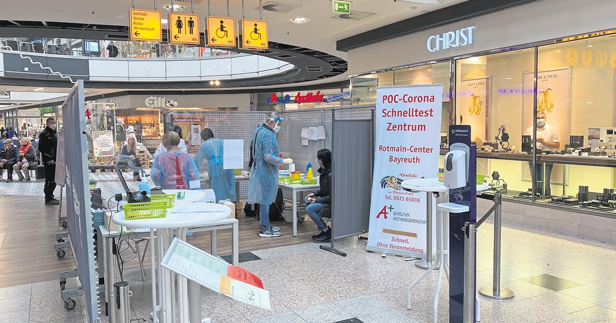 Corona-Virus in Bayreuth: Weiterhin Testungen möglich